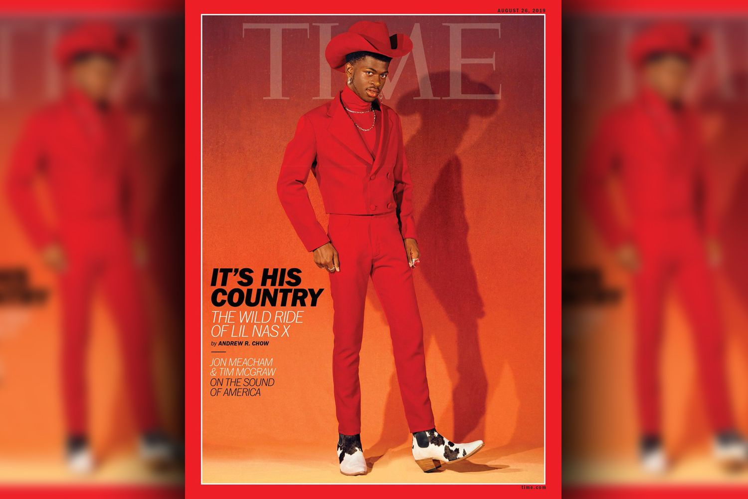Lil Nas X Covers Time, Says He Was Scared of Losing Fans After Coming out