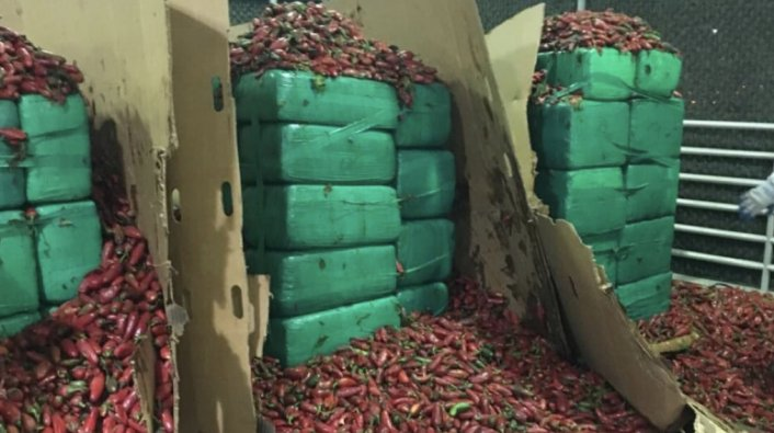 $2.3M Worth of Marijuana Found Inside Shipment of Jalapeno Peppers