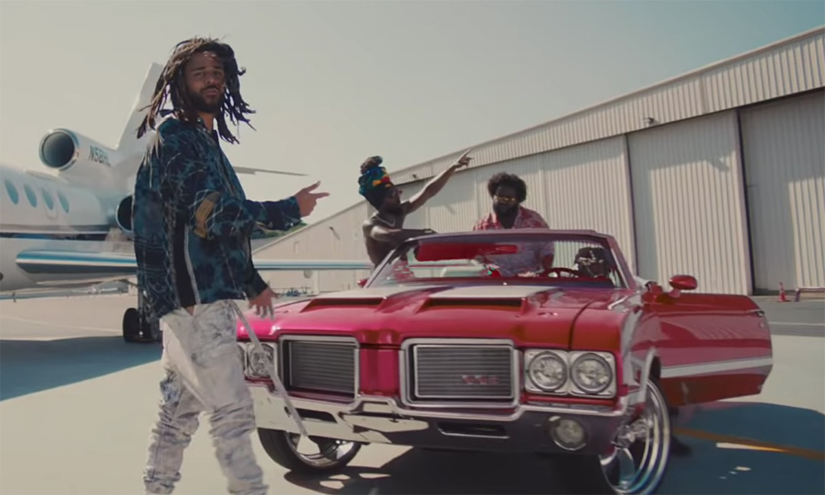 """Dreamville drop """"Down Bad"""" Video featuring J.I.D, Bas, J. Cole, EarthGang, & Young Nudy)"""