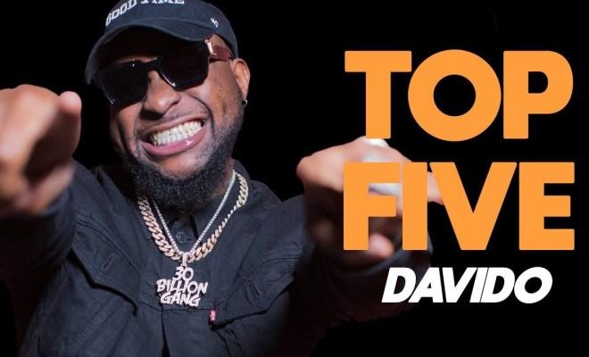 Davido's Reveals top five things to do in Nigeria