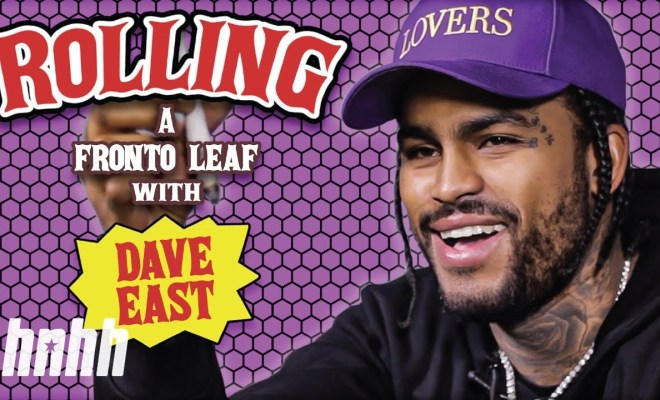How to Roll a Fronto Leaf with Dave East